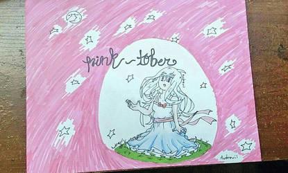 Pink - Tober #InkTober Day 4 by audrevil