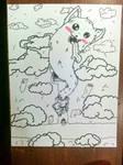 Inktober Lesser Dog Day 5# Long by audrevil
