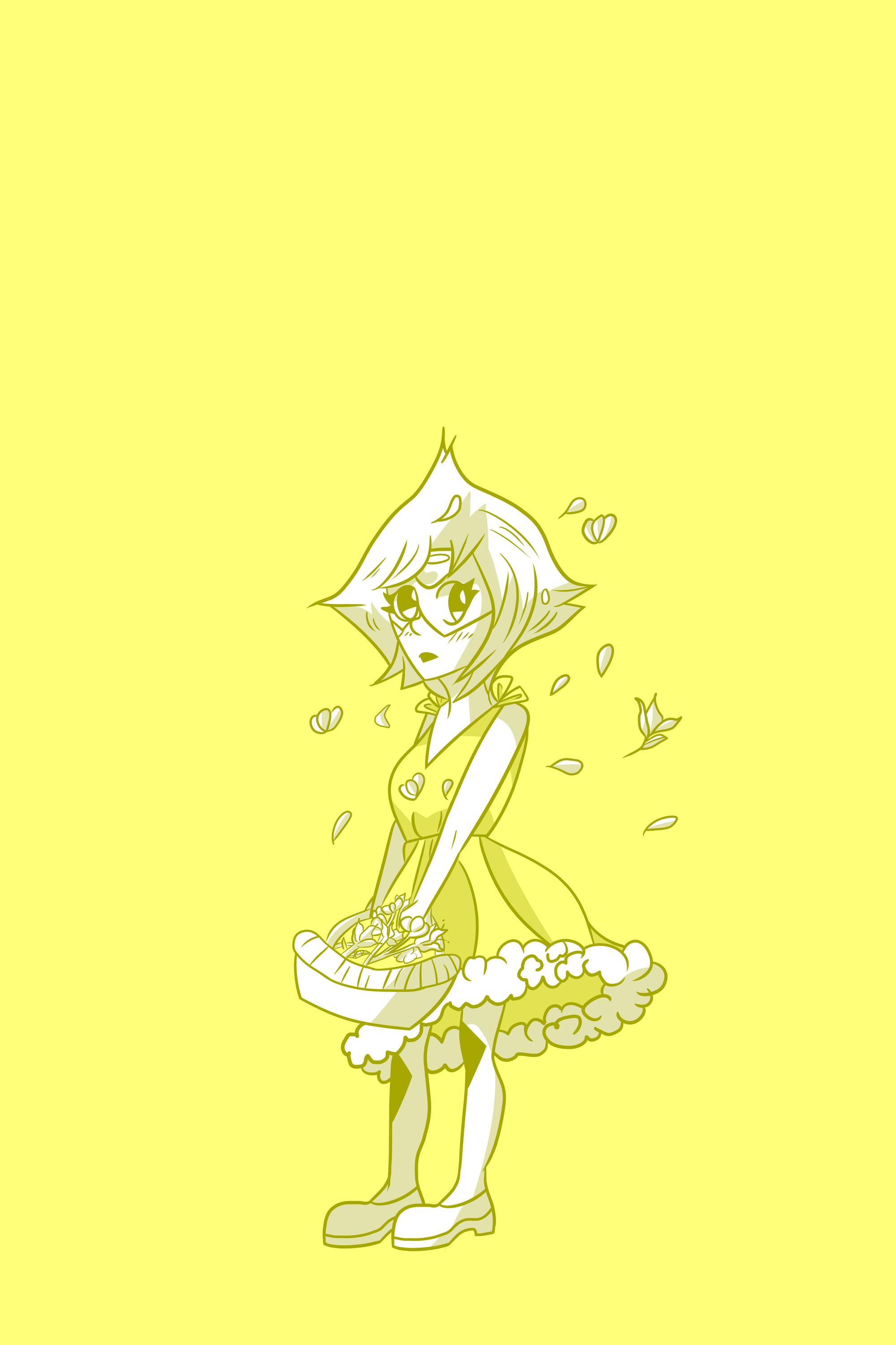 Peridot - Yellow Dress by audrevil