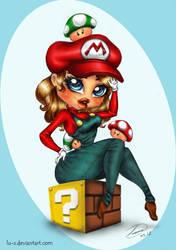 Lu's Female Mario by Lu-s