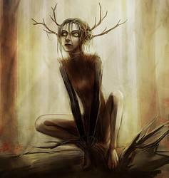 Forest spirit by VivienKa