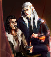 Single fathers of Middlearth by VivienKa