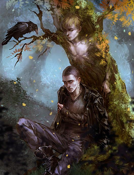 Tree boy by VivienKa