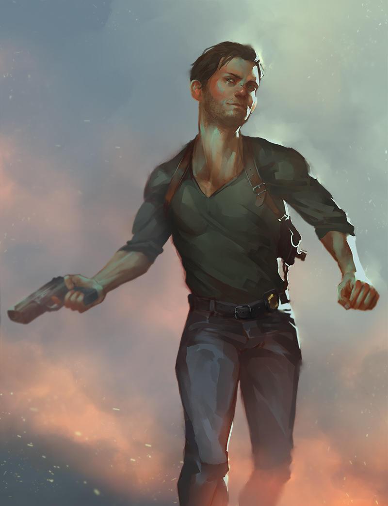 Detective badass by VivienKa