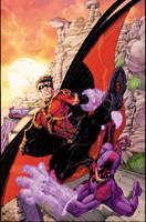 Teen Titans 3 CVR by drewdown1976