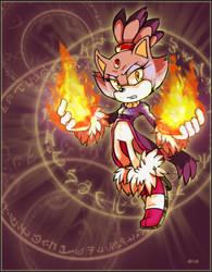 Sonic- Fiiiirrreee by darkburraki