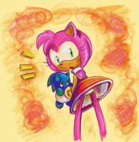 Sonic- Oh So Sweet by darkburraki