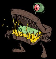 Man-Eating Sandwich by darkburraki
