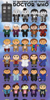50 Doctor by drakefenwick