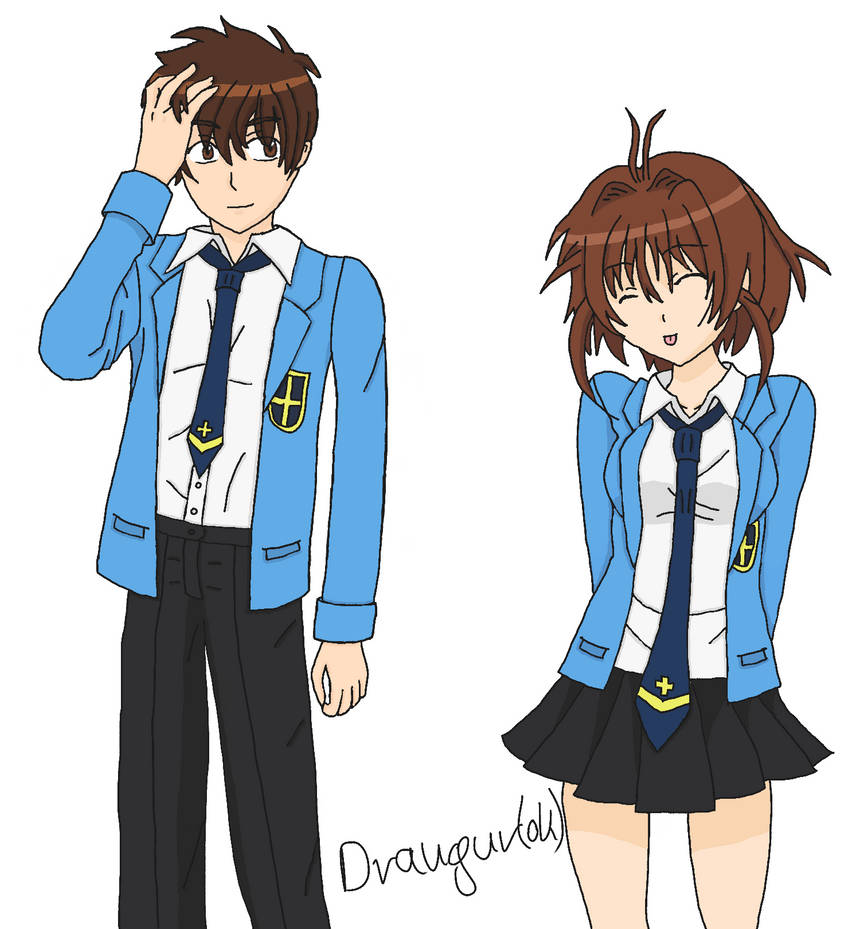 Syaoran and Sakura Mixed Ties by Draugurok