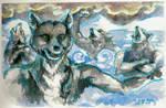 On the Ice Prairie by Firiel-Archer