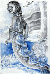 Another Tidepool Girl by Firiel-Archer