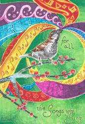 100 Themes - Music - Birdsong by Firiel-Archer