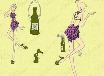 Grape Dress by sunshishi