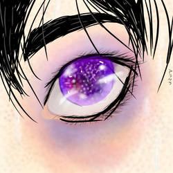 Keith eye by ArabellatheYaoiOtaku