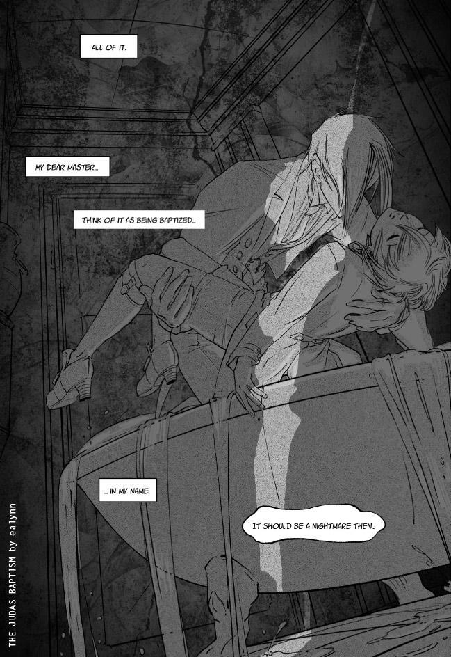 The Judas Baptism 4/13 by Ealynn