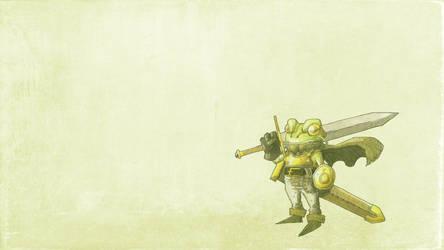 Frog and Masamune Wallpaper by lorenzolamass