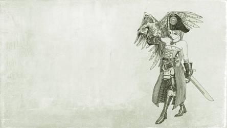 Pirate 3 Wallpaper by lorenzolamass
