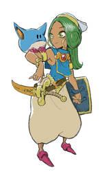 Asha And Pepe Return! by lorenzolamass