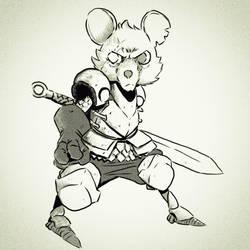 War Mouse  by lorenzolamass