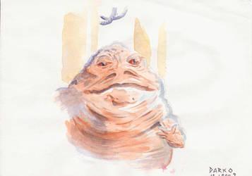 Jabba the Hutt by Darko-Stojanovic-Art
