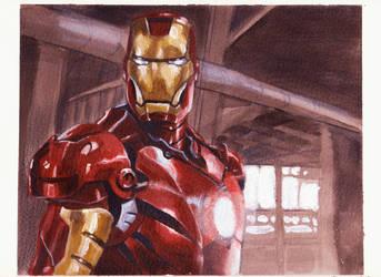 Iron Man by Darko-Stojanovic-Art