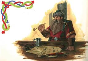 Merchant of Karaz- a- Karak by Darko-Stojanovic-Art