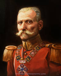 King Petar Karadjordjevic by Darko-Stojanovic-Art