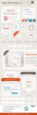 Subtle Web Elements II by PixFairy