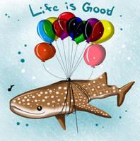 Freddy - Life is Gooooooood by Cysco-Inu
