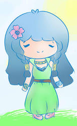 What a Lovely Day (Dahlia from PumpkinOnline) by pokeytheflailer