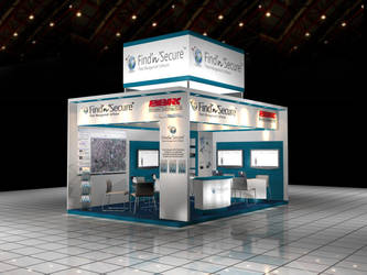 3D Exhibition Stand by Manindar