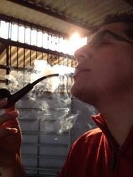 Smoking pipe by greenzound