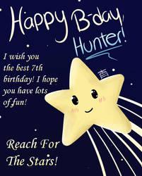 Happy Birthday Hunter by AnimePinkPandaHaruka