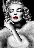 Marylin Monroe by RonjaZorina