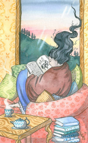 Tea, Blankets and Books by erinclaireb
