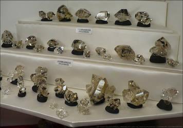Herkimer Display Crystals by Undistilled