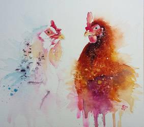 Chickens by xXxParabolaxXx