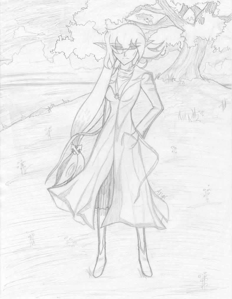 Sapphire redesign sketch by FenikkusuSapphire
