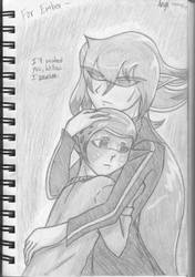 Mother and Daughter (Splatoon) by FenikkusuSapphire