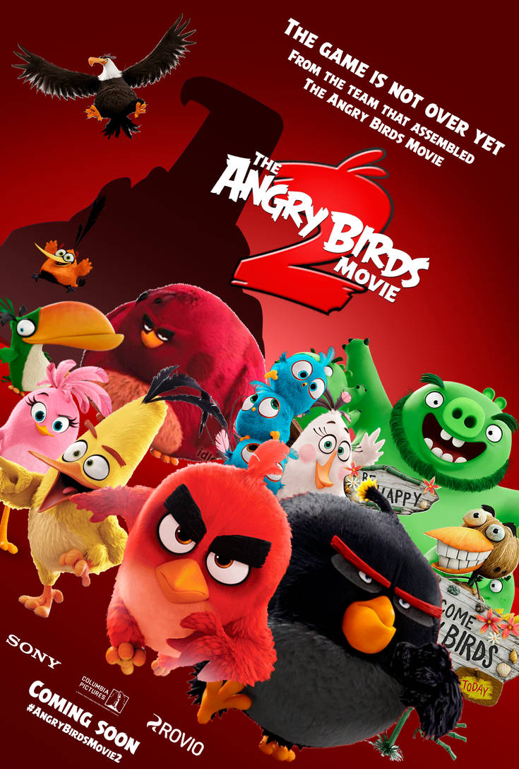 The Angry Birds Movie 2 - Poster 4 (fan made) by ...