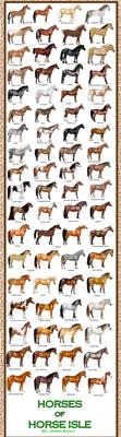 Breed Chart: Horseisle 1-69 by EponaN64