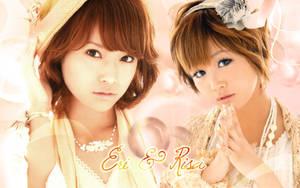 Wallpaper Risa y Eri by RainboWxMikA