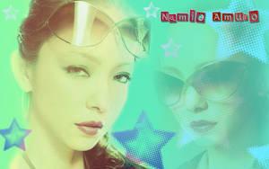 Wallpaper Namie Amuro by RainboWxMikA