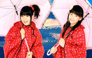 Wall Kanon and Riho ver Rain by RainboWxMikA