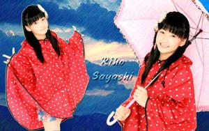 Wall Riho Sayashi ver Rain by RainboWxMikA