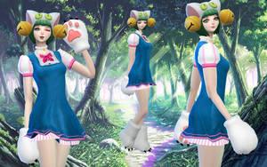 Wallpaper Dejiko by RainboWxMikA