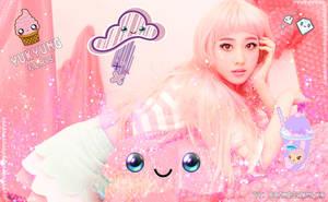Wallpaper Yukyung (Elris) by RainboWxMikA