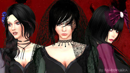 Wallpaper Kalafina Sims Style by RainboWxMikA