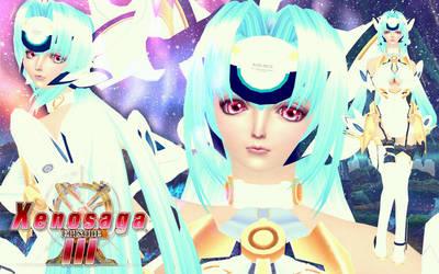 Wallpaper - Kosmos (Xenosaga III) Sims 4 ver. by RainboWxMikA